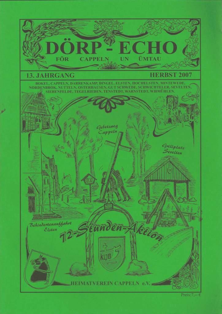 Inhaltsverzeichnis - DoerpEcho Ausgabe 1