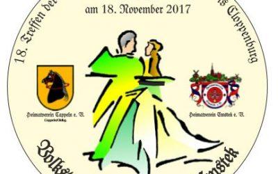 Einladung zum 18. Treffen der Volkstanzgruppen
