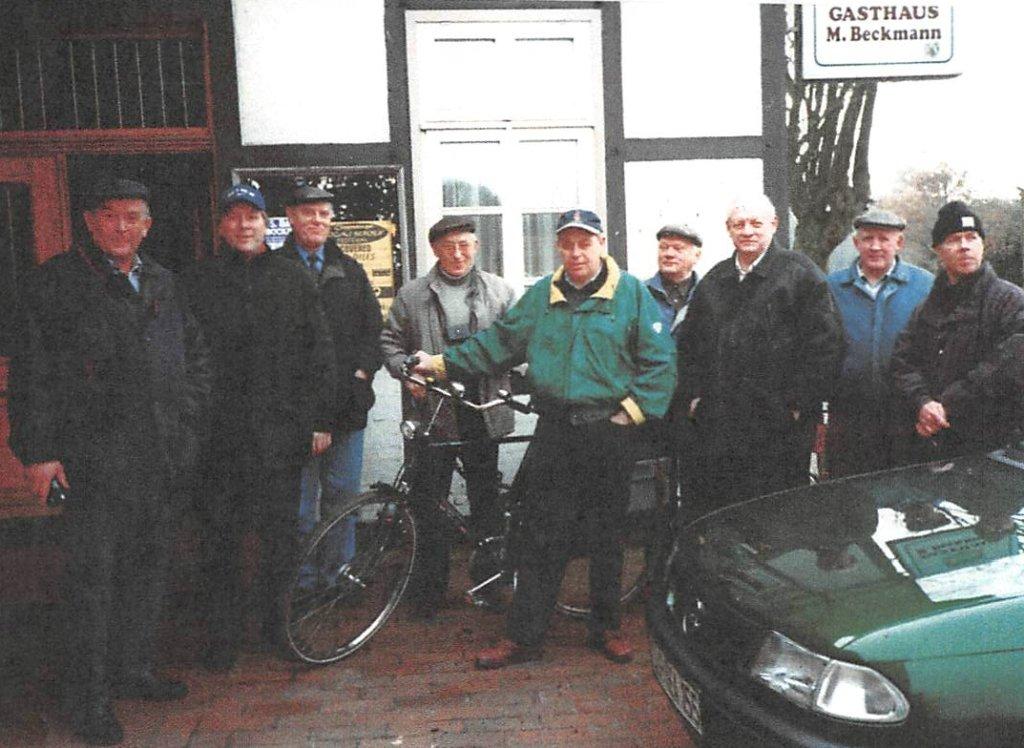 1. Radwandertour vom 16.03.1999
