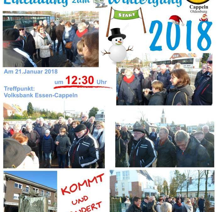 Wintergang 2019 mit Generalversammlung