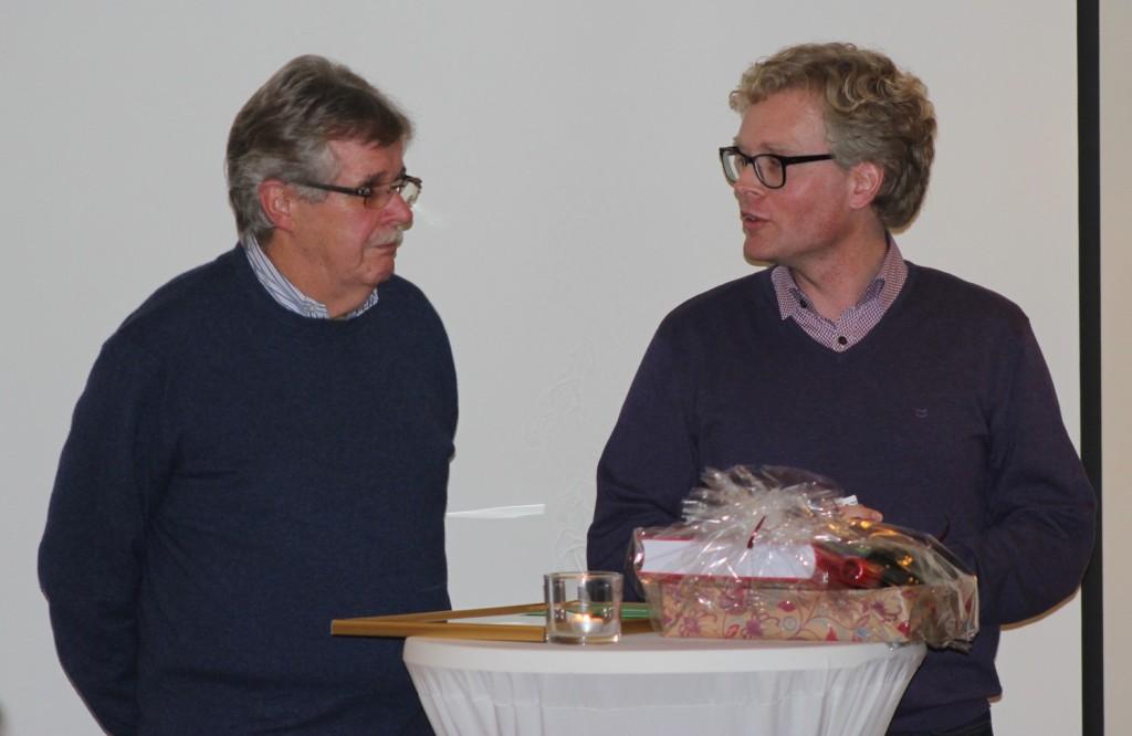 Manfred Plog (links) und Bürgermeister Marcus Brinkmann