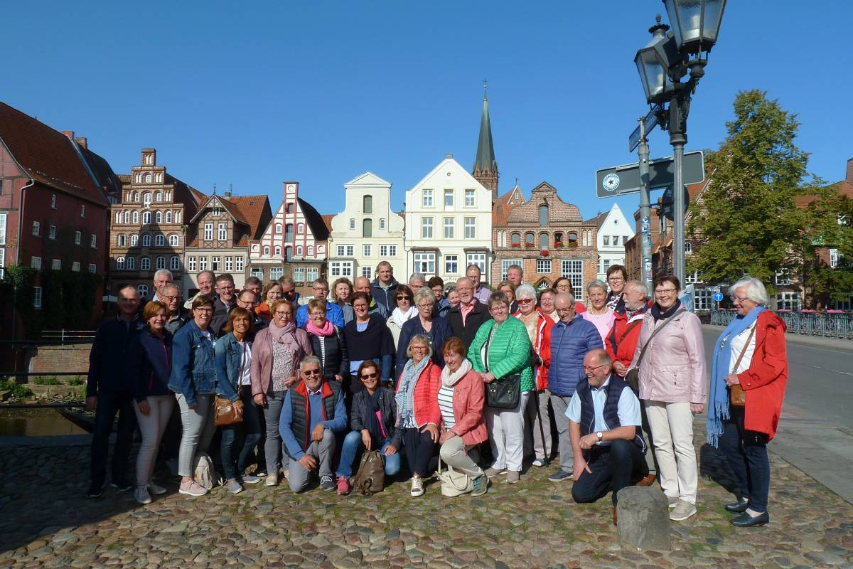 Gruppenfoto Lüneburgfahrt 2018