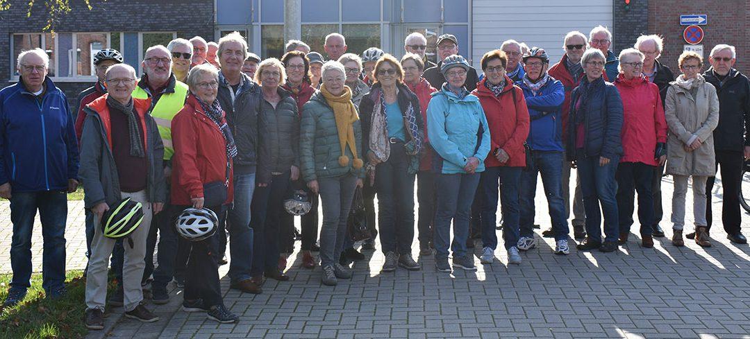 Radwandergruppe besucht JVA