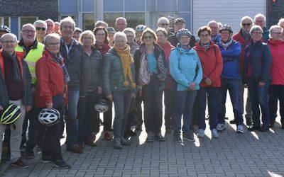 Jahresauftakttreffen der Radwandergruppe